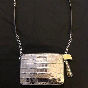Michael Kors Gunmetal Crossbody Bag